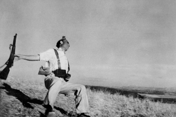 Robert Capa, Spanish Civil War