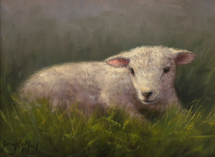 The lamb_no frame_Simon Balyon