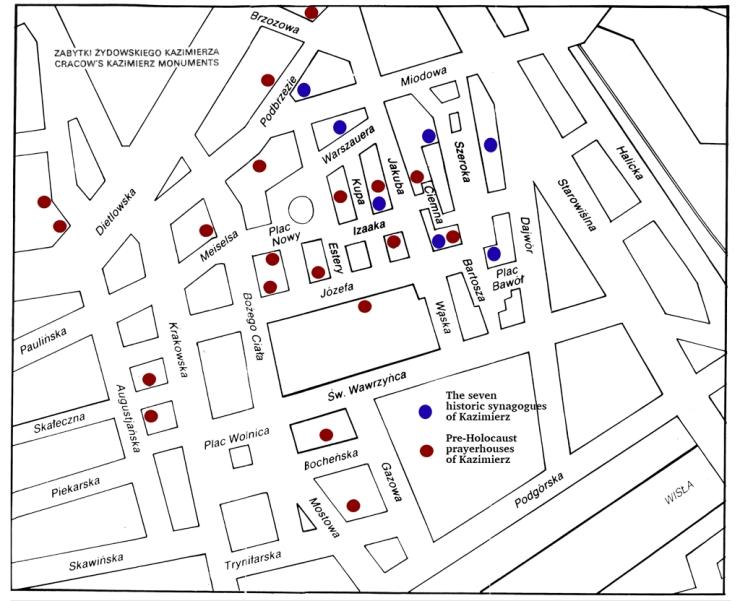 Map Kazimierz Fransisco